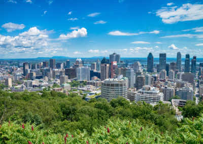 Mont-Royal mountain lookout